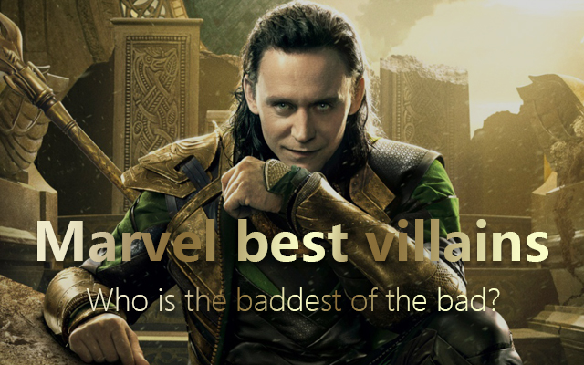 Marvel best villainss