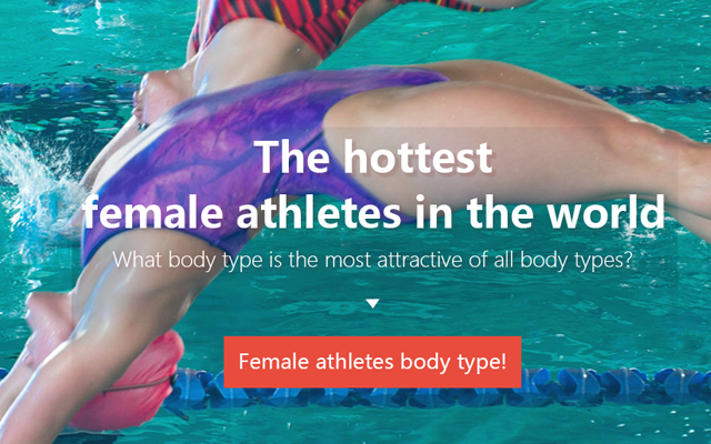 The hottest female athletes in the world