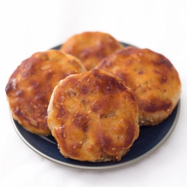 綜合餅+(桔餅+薑糖)-新埔十大伴手禮票選