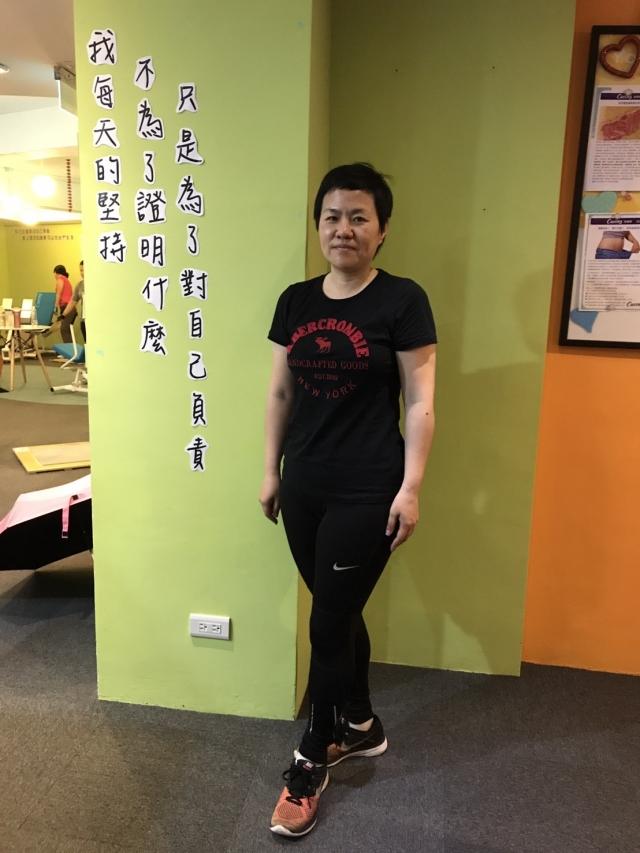 台中漢口店劉婷芬-Curves蛻變新生網路票選