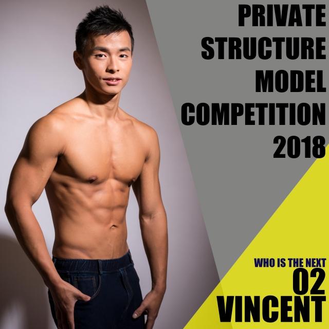 Vincent Li 李偉城-Who is the next ? 模特兒選舉 - 第3輪投票