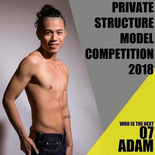 Adam Chan 陳家偉-Who is the next ? 模特兒選舉 - 第3輪投票