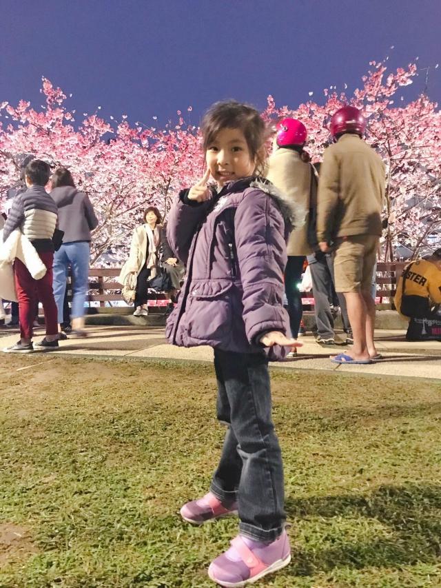 愛,原來是和孩子一起遇見櫻花-2019樂活夜櫻季櫻花特派員