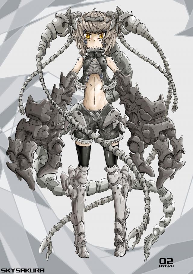 作品編號 04 九頭蛇HYDRA-【票選活動┃名機起武 ~機戰少女Alice 古今中外機甲設計賽~】