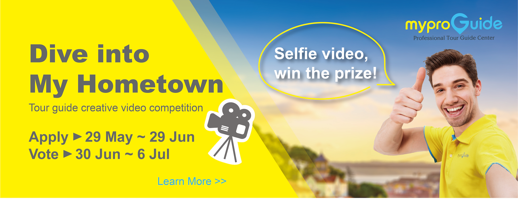 Dive into My Hometown | Tour guide video competition