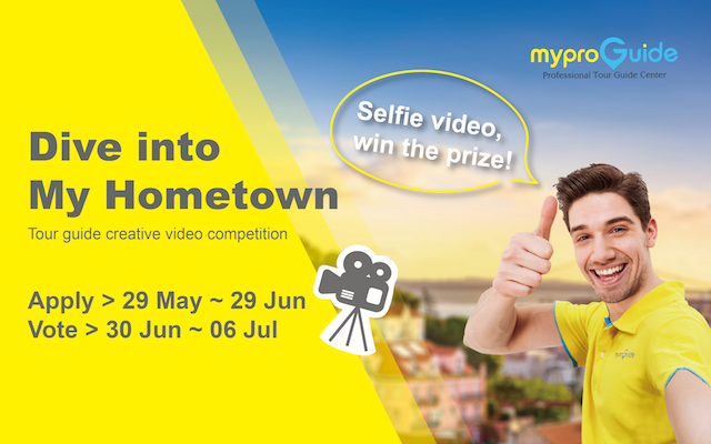 Dive into My Hometown - Tour guide creative video vote