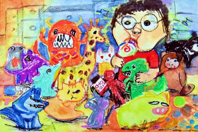 周至剛 | 兒童節萬萬歲-育成基金會 - 第12屆繪畫比賽 「網路人氣王」 票選活動