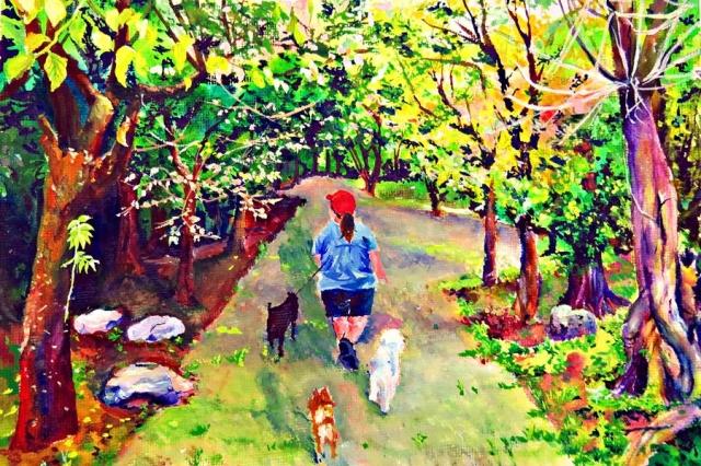 陳曉嵐 | 幸福時光-育成基金會 - 第12屆繪畫比賽 「網路人氣王」 票選活動