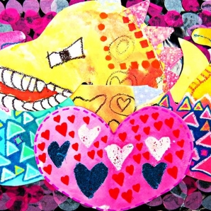 潘佑威 | 恐龍與我-育成基金會 - 第12屆繪畫比賽 「網路人氣王」 票選活動