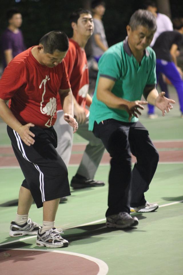 基礎動作的練習-籃得好天天-籃得有你影像回顧展