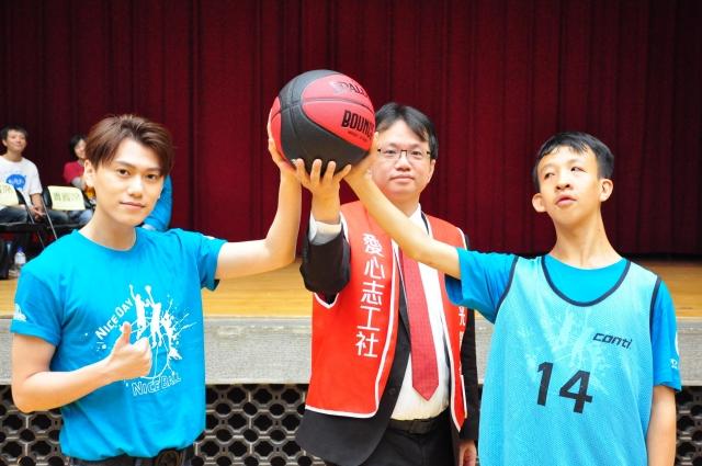 愛心大使來開球-籃得好天天-籃得有你影像回顧展